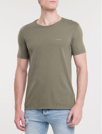 Camiseta-Ckj-Mc-Basica---Militar