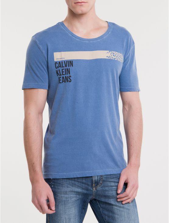 Camiseta-Ckj-Mc-Est-Denim-Corporation---Azul-Escuro