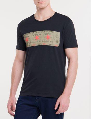 Camiseta-Ckj-Mc-Ticket-Estrela---Preto