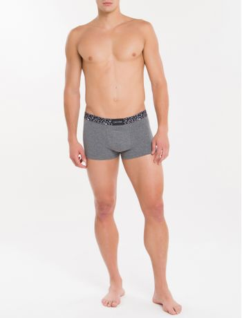 Cueca-Low-Rise-Trunk-Animal-Cotton---Grafite