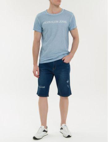 Camiseta-Ckj-Mc-Est-Logo-Basica---Azul-Claro