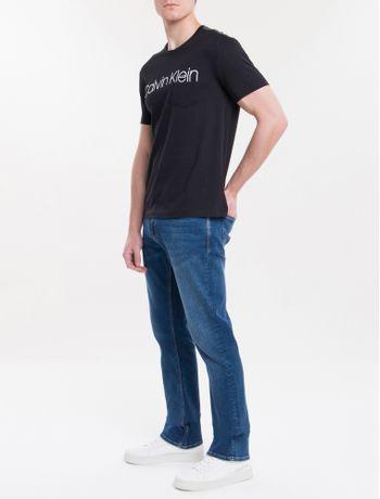 Camiseta-Slim-Careca-Calvin-Klein---Preto