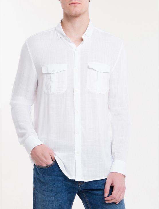 Camisa-Slim-Cannes-Viscose-Flame---Branco