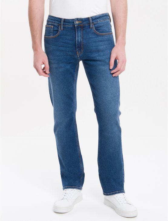 Calca-Jeans-Five-Pockets-Straight---Azul-Medio