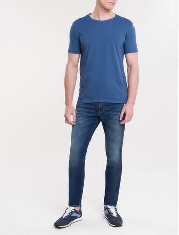 Camiseta-Ckj-Mc-Est-American-Tour---Azul-Escuro
