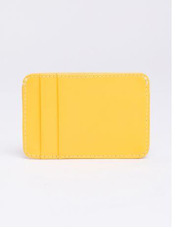Porta-Cartao-Masc-Couro-Logo---Amarelo-Ouro