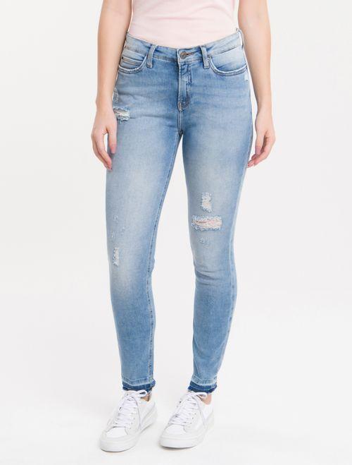 Calça Jeans Five Pockets Ckj 001 Super Skinny