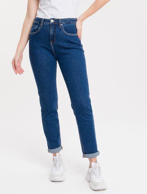 Calça Jeans Five Pockets Ckj Mom