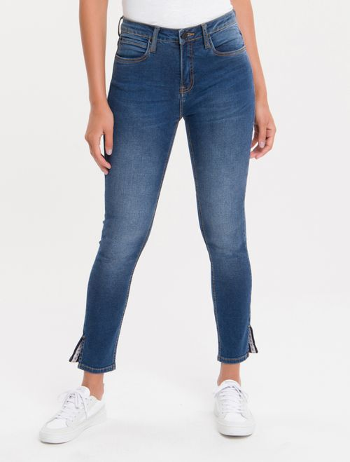 Calça Jeans Five Pockets Ckj 010 High Rise Skinny