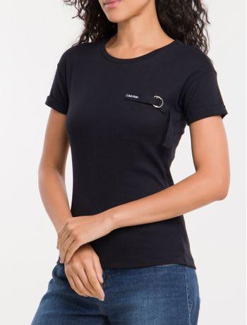 Camiseta-Bolso-Calvin-Klein---Preto