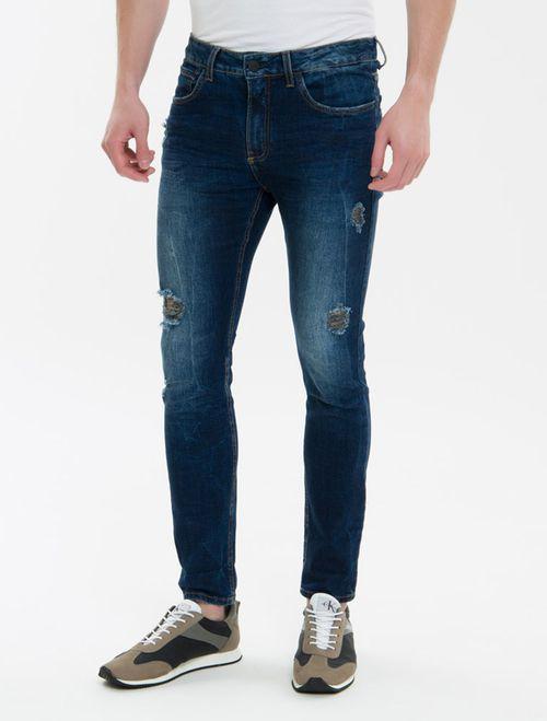 Calça Jeans Five Pockets Ckj 016 Skinny