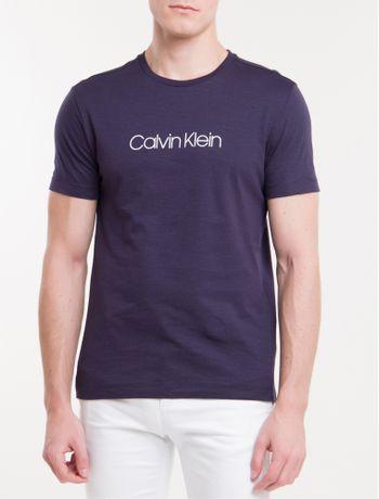 Camiseta-Slim-Basica-Flame-Calvin-Klein---Marinho