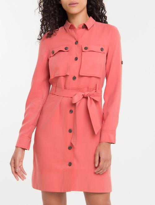 Vestido Chemise Cool Calvin Klein - Papaia