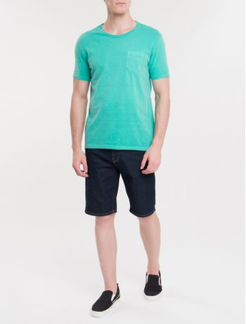 Camiseta-Ckj-Mc-Bolso-Etiqueta---Verde
