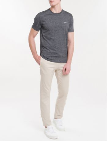 Camiseta-Slim-Mouline---Preto