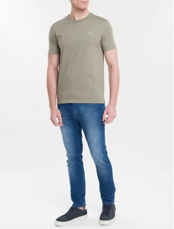 Camiseta-Slim-Mouline---Militarg