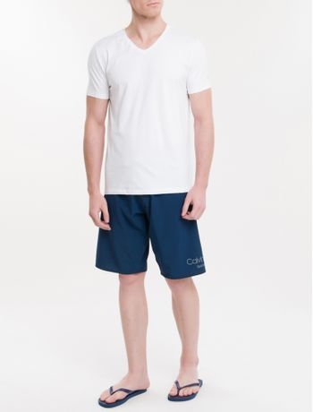 Camiseta-Ck-Swim-Mc-Gola-V-Silk-Manga---Branco-2
