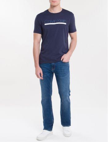 Camiseta-Slim-Estampado-Listra-Em-Relevo---Marinho