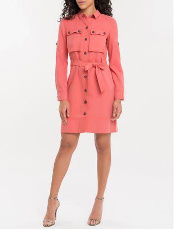 Vestido-Chemise-Cool-Calvin-Klein---Papaia