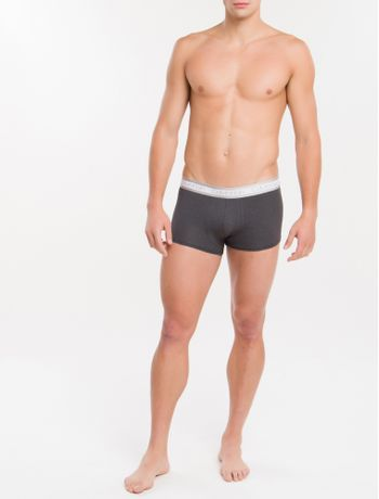 Cueca-Low-Rise-Trunk-Cotton-Cooling---Light-Grey