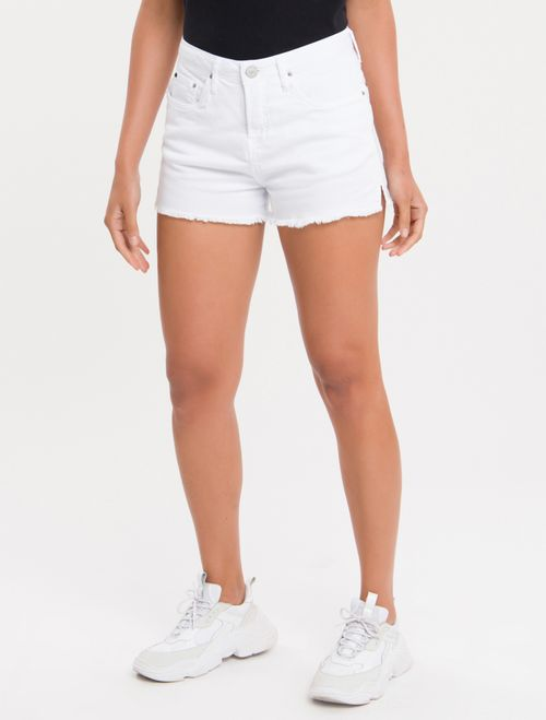 Shorts Color Five Pockets - Branco 2