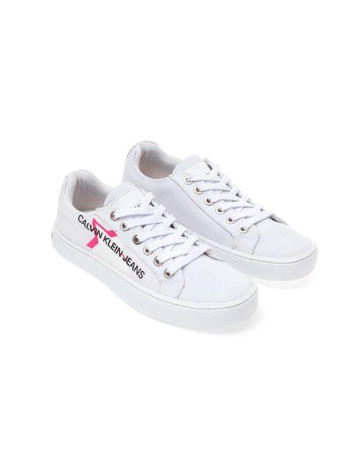 Tênis Ckj Girl Básico Est Estrela Logo - Branco 2