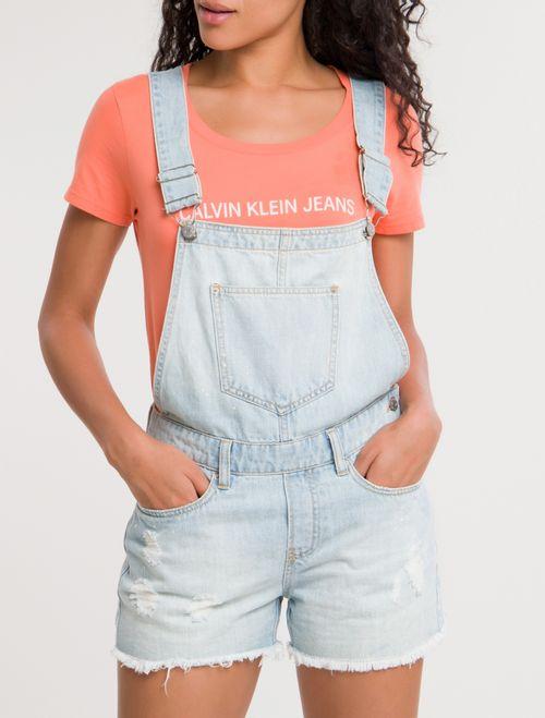 Macacão Jeans - Azul Claro