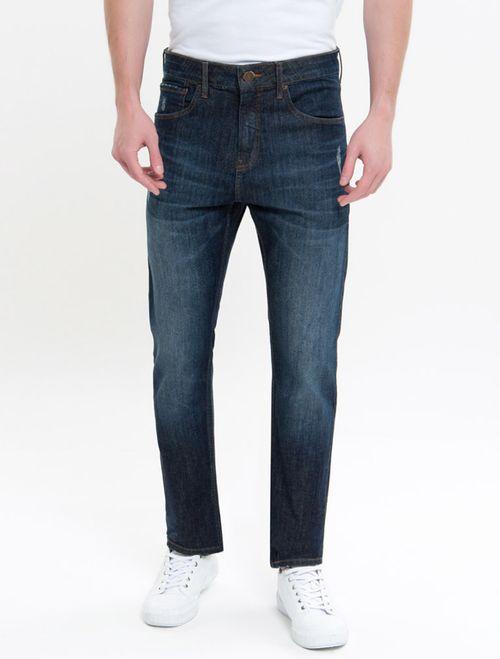 Calça Jeans Five Pockets R Straight - Marinho