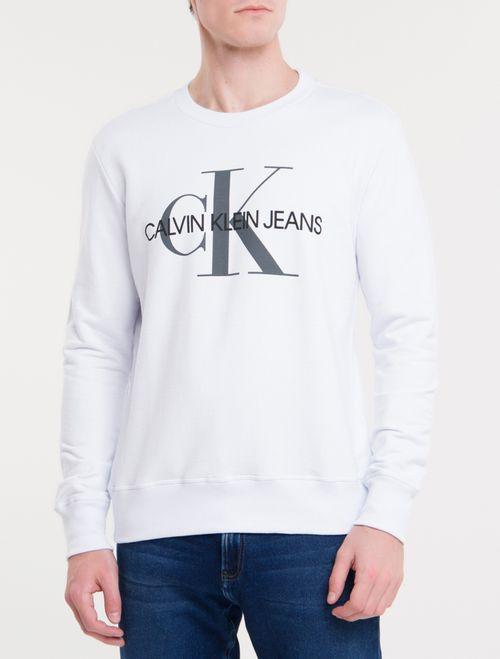 Camiseta Ckj Ml Est Re Issue - Branco 2