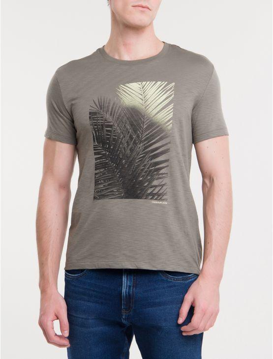 Camiseta-Ckj-Mc-Palmeira-Color---Chumbo