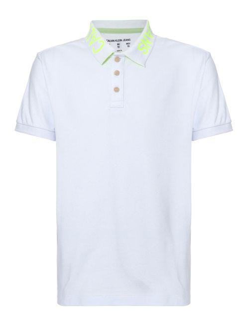 Polo Ckj Mc Est Logo Gola - Branco 2