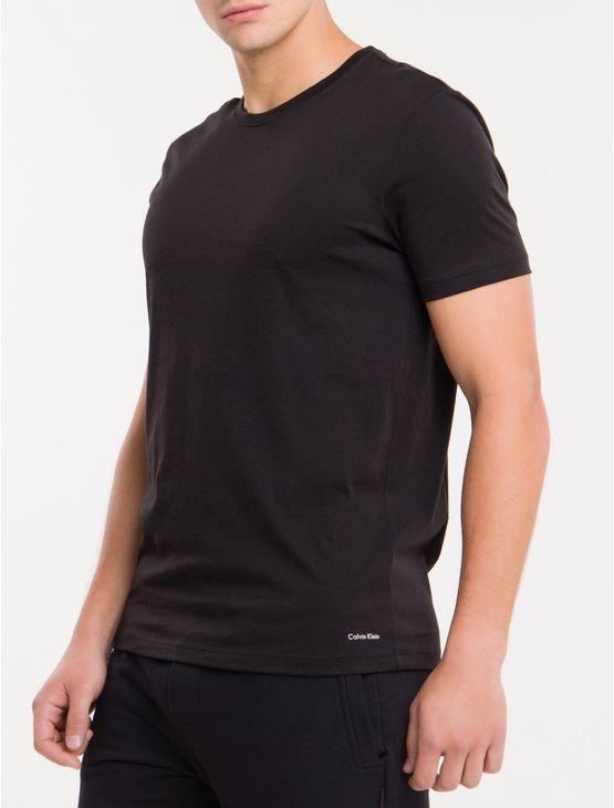 Kit2-Camiseta-Gola-Careca-Cotton-Peruano---Preto