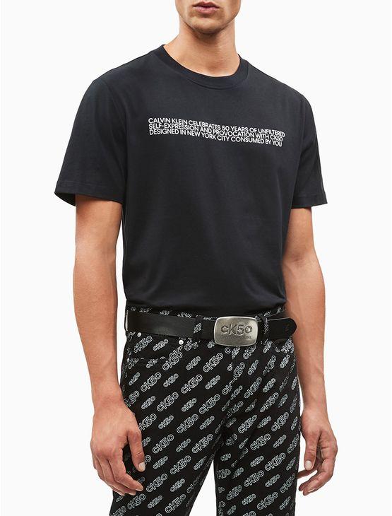 Camiseta-Mc-Biography-Relaxed-CK50---Preto