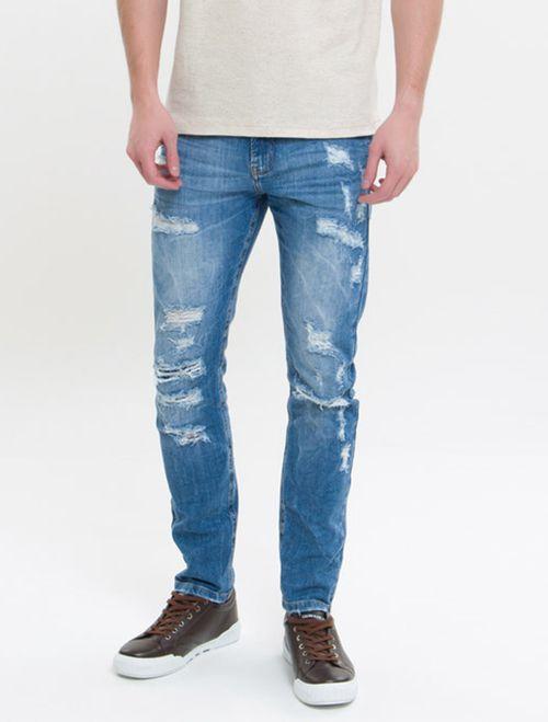Calça Jeans Five Pockets Skinny Ckj 016 Skinny