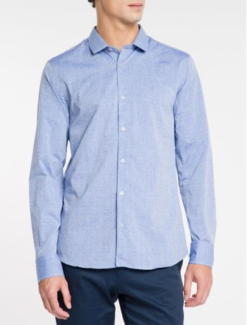 Camisa-Slim-Cannes-Simples---Azul-Carbono