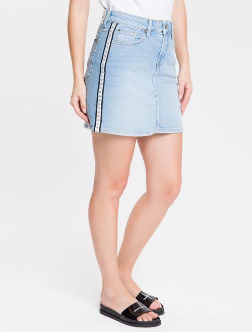 Saia Jeans - Azul Claro