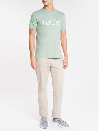 Camiseta-Regular-New-Year-Luck---Verde-Claro