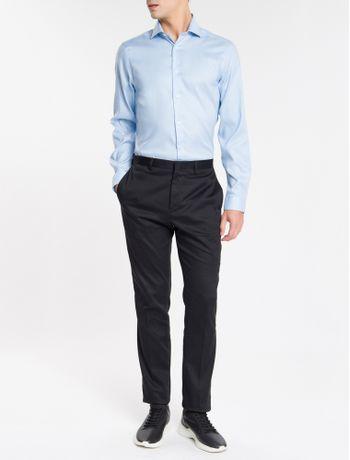 Camisa-Basica-Slim-Fit-Iron-Com-Elastano---Azul-Claro