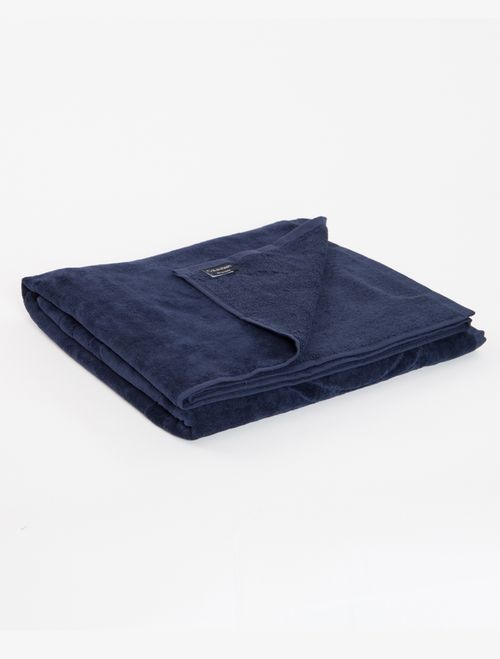 Toalha Ckj Unicolor - Azul Marinho