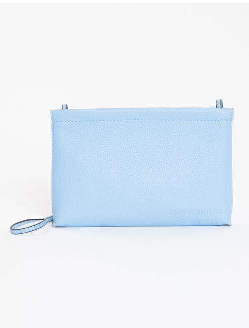 Bolsa Clutch Ck Fem Ultra Light - Azul Médio
