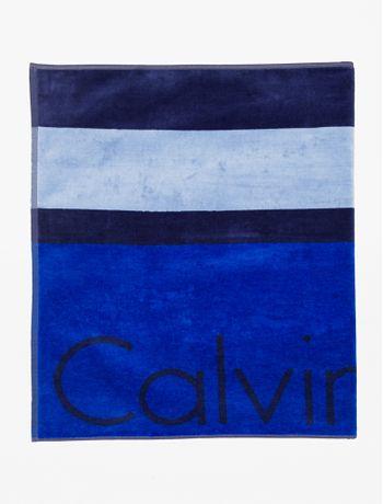 Toalha-Ckj-Listras-Calvin-Klein---Azul-Royal