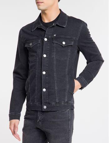 Jaqueta-Jeans-Trucker-Bordado-Ck1---Preto