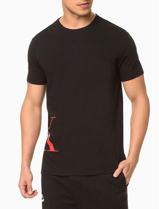 Camiseta-Masc-Ck-One-Camo-Loungewear---Preto