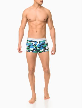 Cueca-Low-Rise-Trunk-Cotton-Estampado-Ck---Verde