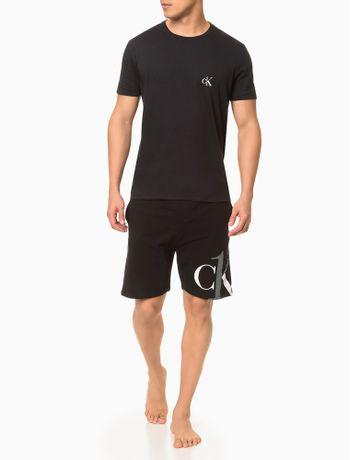 Pijama-Masc-Bermuda-Algodao-Ck-One-Splee---Preto