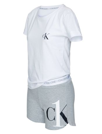 Pijama-Short-Doll-Algodao-Ck-One-Kids---Mescla