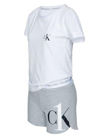 Pijama-Short-Doll-Algodao-Ck-One-Kids---Mescla