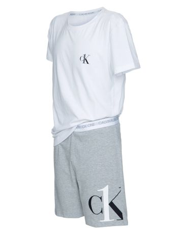 Pijama-Masc-Bermuda-Algodao-Ck-One-Kids---Mescla