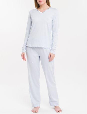 Pijama-M-L-E-Calca-Cetim-de-Algodao-Peruano---Azul-Bebe
