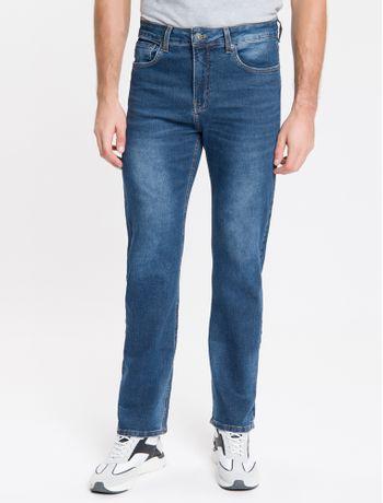 Calca-Jeans-Five-Pockets-Ckj-037-Relaxed-Straight---Marinho